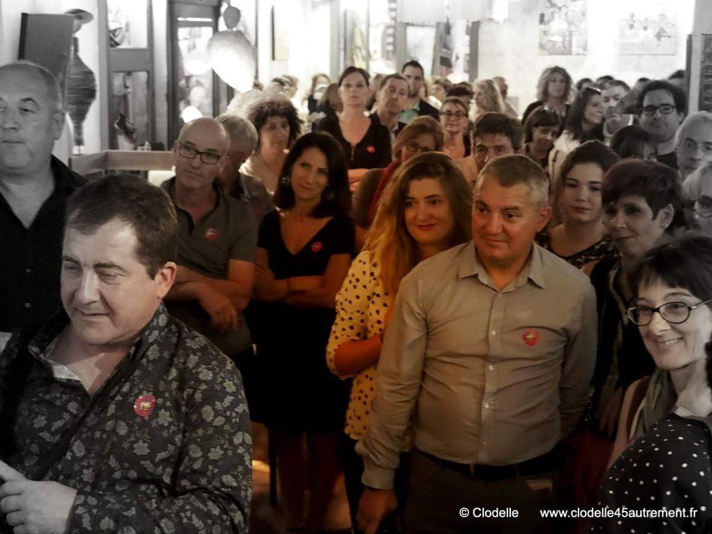 COLETTE MACHARD-SEVESTRE &amp&#x3B; PASCAL NOTTIN exposent pour OSCAR au CLUB 15 d' ORLEANS