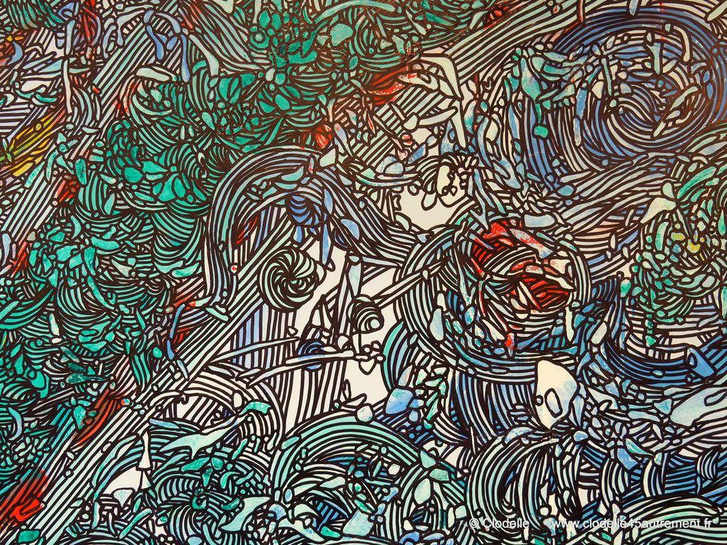 HUGO CESTO : Vernissage de l'exposition &quot&#x3B;Du street art au fine art&quot&#x3B; à la Médiathèque de SAINT JEAN DE BRAYE du 1er au 29 octobre 2016
