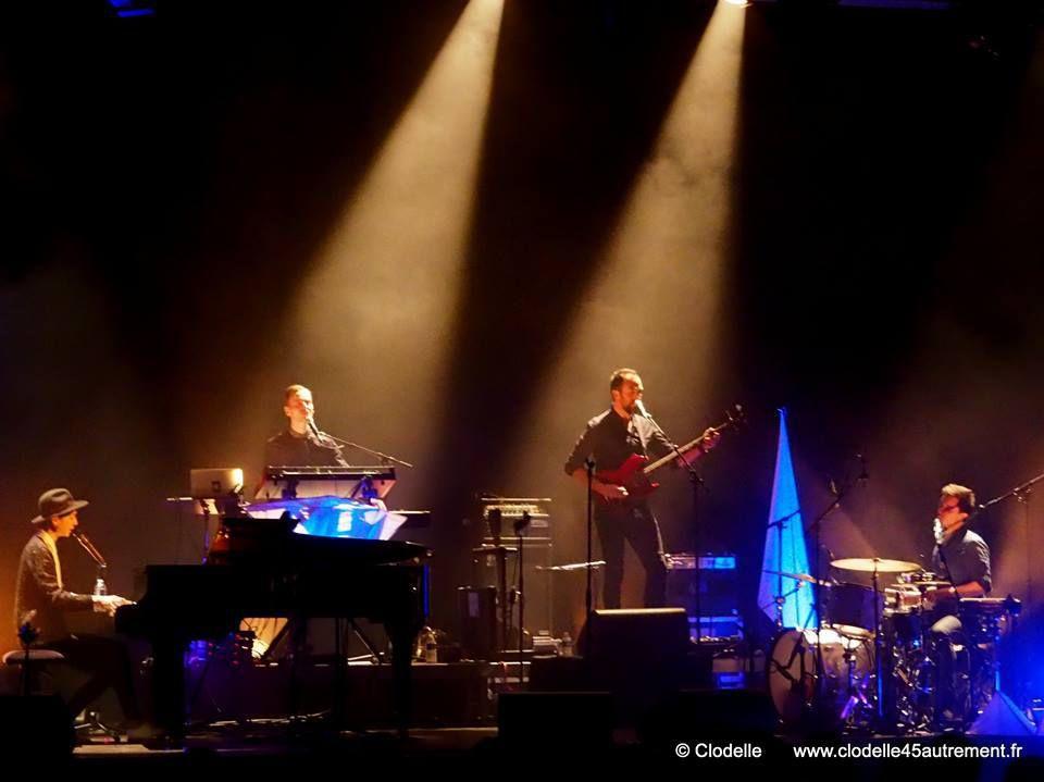 MAISSIAT et PAULINE CROZE en concert à St JEAN DE LA RUELLE : retour en images