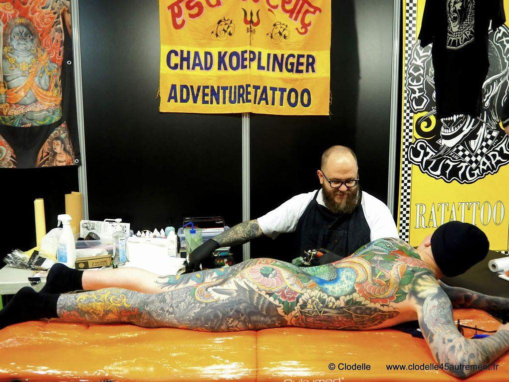 LE MONDIAL DU TATOUAGE 2017 défend le 10ème art: plus de 30000 visiteurs et 420 tatoueurs du monde entier