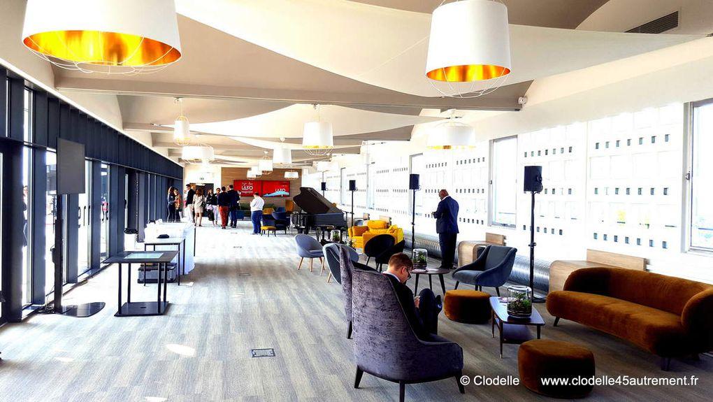 LE LAB'O - Village by CA d' ORLEANS METROPOLE inaugure son espace réceptif TSCHUMI et ses INNOVATIONS DURABLES