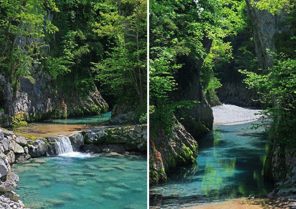 Gorges de Kakuetta, Pays basque