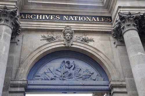 Hôtel de Fontenay, Hôtel de Rohan, Salon de la Princesse, Archives