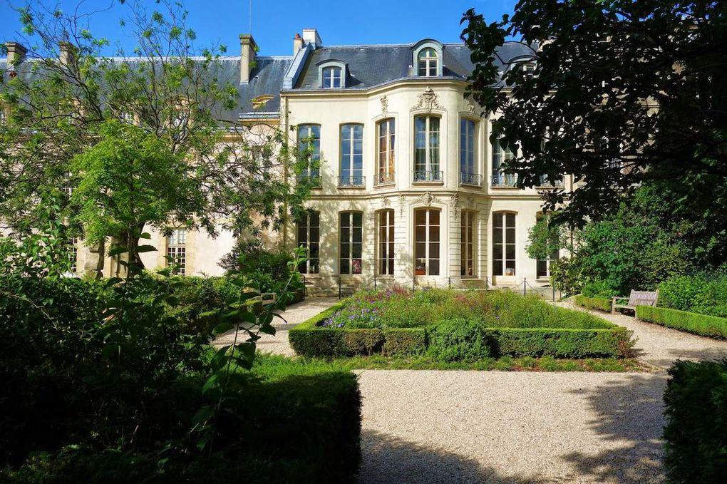 Hôtel de Fontenay, Gardens map, Hôtel de Rohan, Princess drawing room, Archives