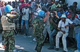 Contingent brésilien de la Minustha (Misssion des casques bleus de l'ONU en Haït)