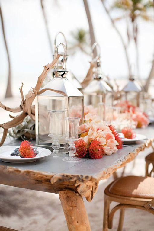 Mariage à la plage - Source Images : Pinterest