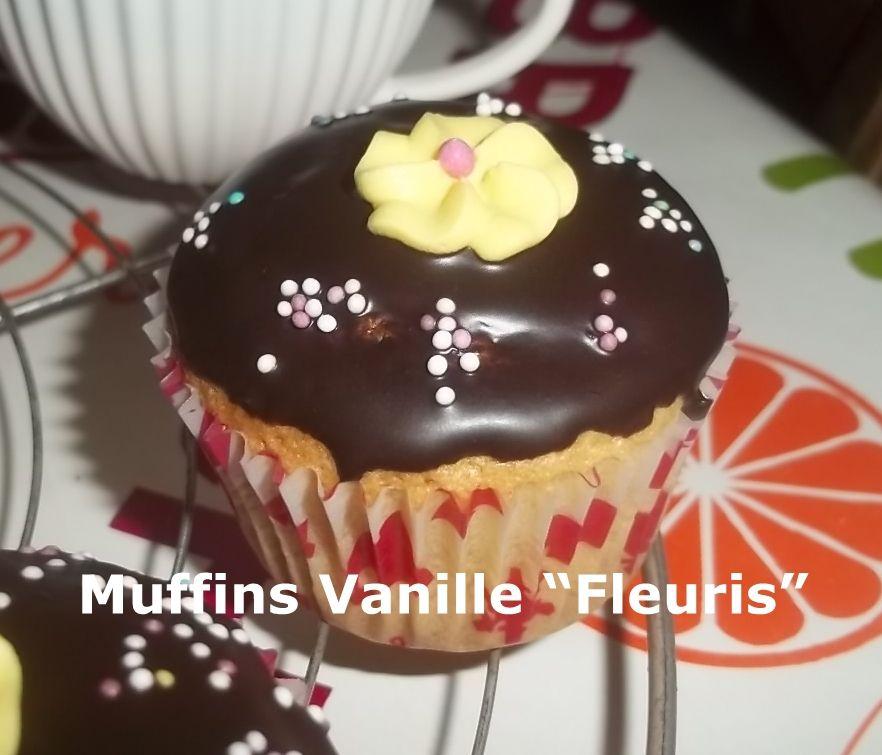 Muffins Vanille &quot&#x3B;Fleuris&quot&#x3B;