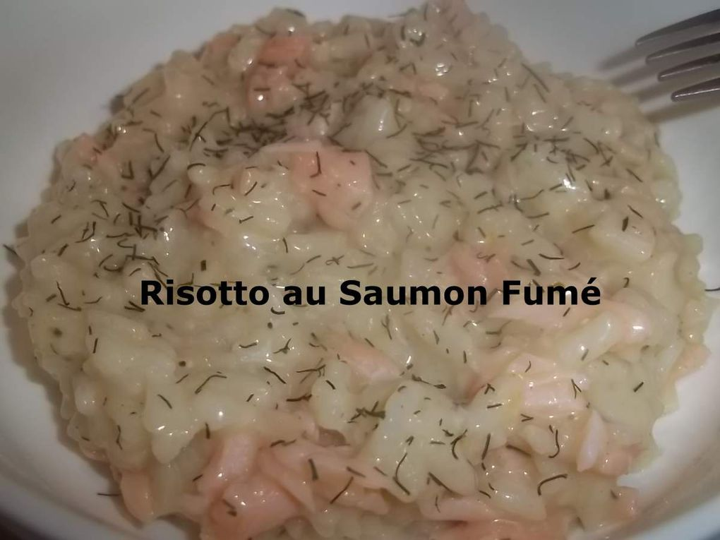 Risotto au Saumon Fumé (Cookeo)