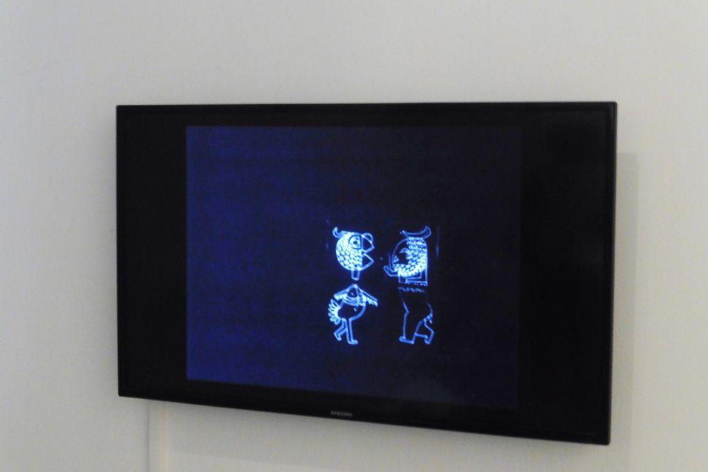 Images tirées d'un court métrage réalisé par Yona Friedman sur un conte africain (1960 - 1963)