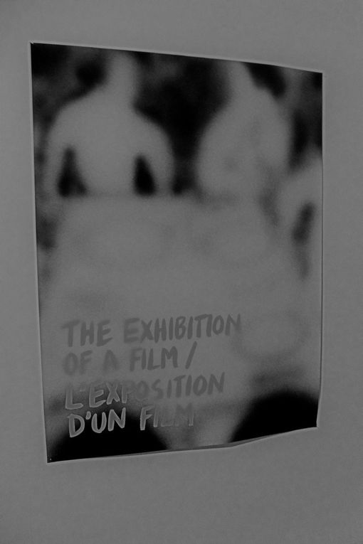 Mathieu Copeland ''The exhibition of a film'' (posters 120 x 160 cm)