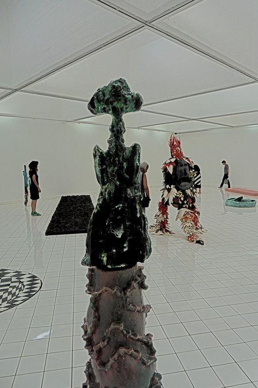 John Creten, Bernard Dejonghe and Alsa Sahal installations.