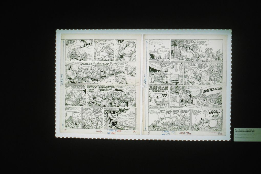 "Cimiez, the Jacques Durandi retable and Goscinny and Uderzo ""Le tour de Gaule d'Astérix"" (1965)"