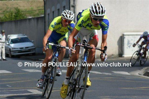 Clément CHEVRIER et Flavien MAURELET ont fait les beaux jours du Team Junior VCBO.