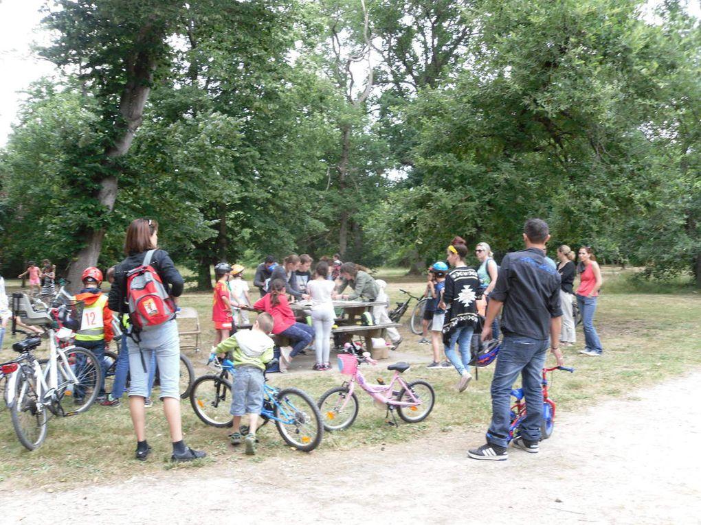 Excellente après-midi avec l'organisation de cette journée par le Cmj de CUGNAUX et la collaboration du Vélo Club.