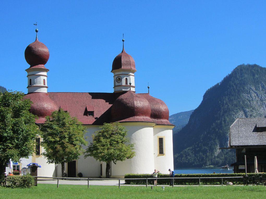 Königssee Berchtesgaden Bavière