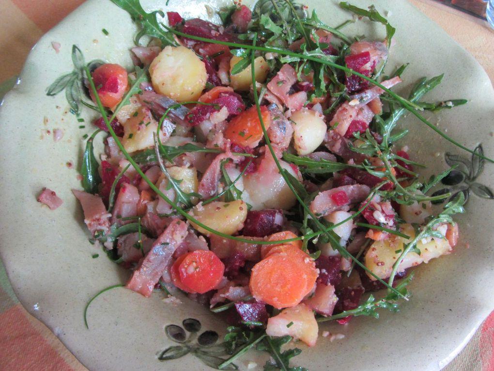 Autre salade de hareng