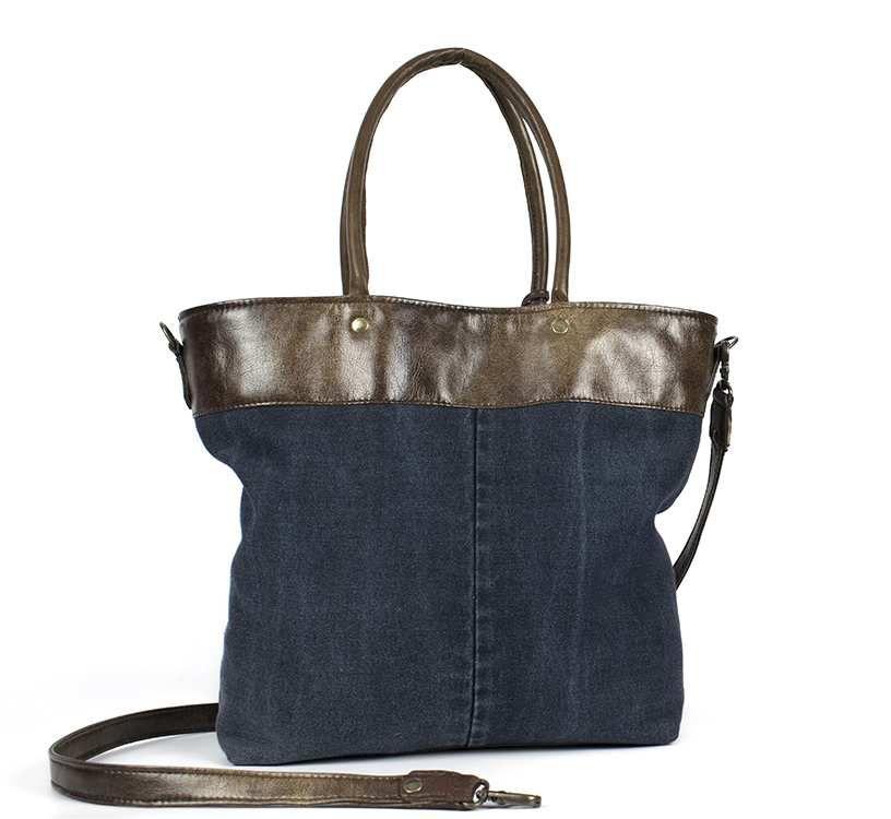 SAC JEANS &quot&#x3B;idéal shopping&quot&#x3B;