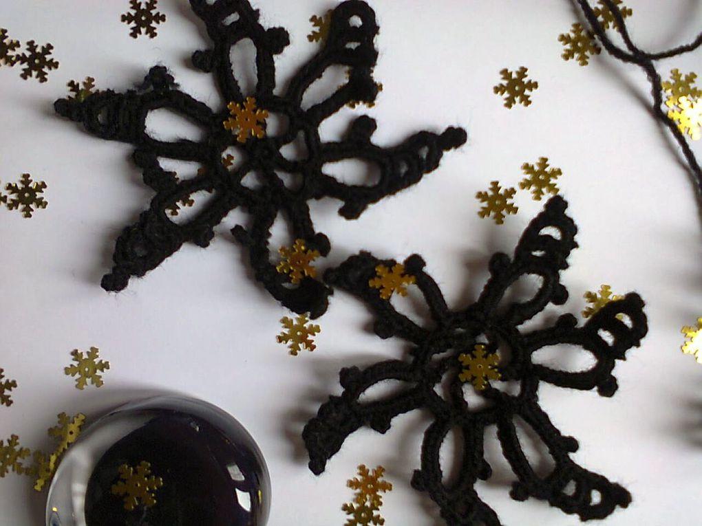 Flocon Noir n4 de my-picot