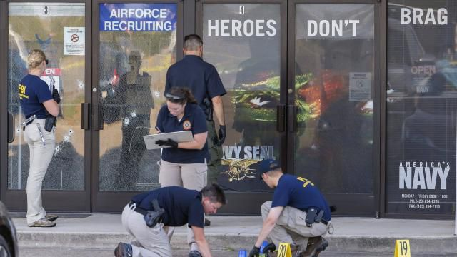 USA : L'EI revendique l'attentat de Chattanooga