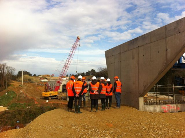 Visite du Chantier Oc'Via