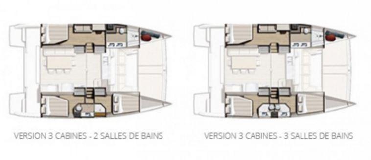 Bali 4.3 MY, le motoryacht sur 2 coques, idéal pour l'eco-cruising