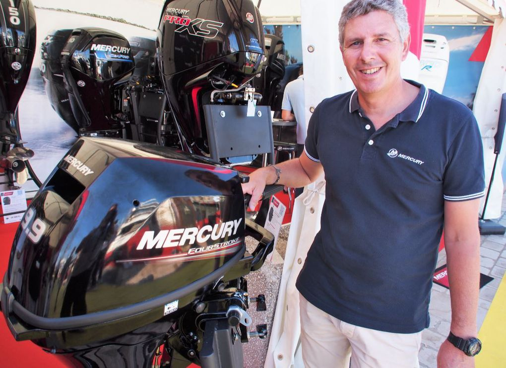 Stéphane Schuster, responsable technique Mercury Marine France