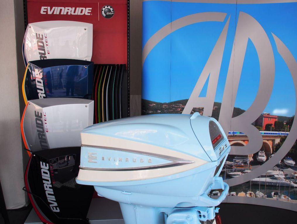 Tradition et hautes technologies pour Evinrude au Yachting Festival