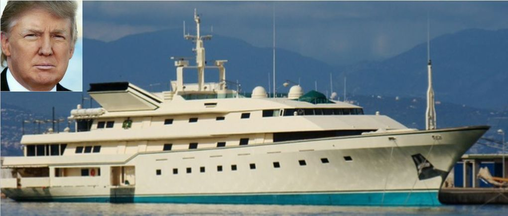Comment Donald Trump a racheté le superyacht de James Bond avant de commander le plus grand yacht du monde !