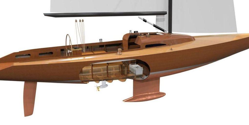 Les pods électriques FP Cruise de Torqeedo, remportent l'overall DAME Award 2016