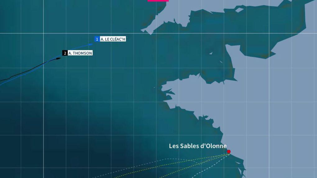 Vendée Globe - A 34 milles derrière Le Cléac'h, Alex Thomson peut-il encore espérer gagner ?