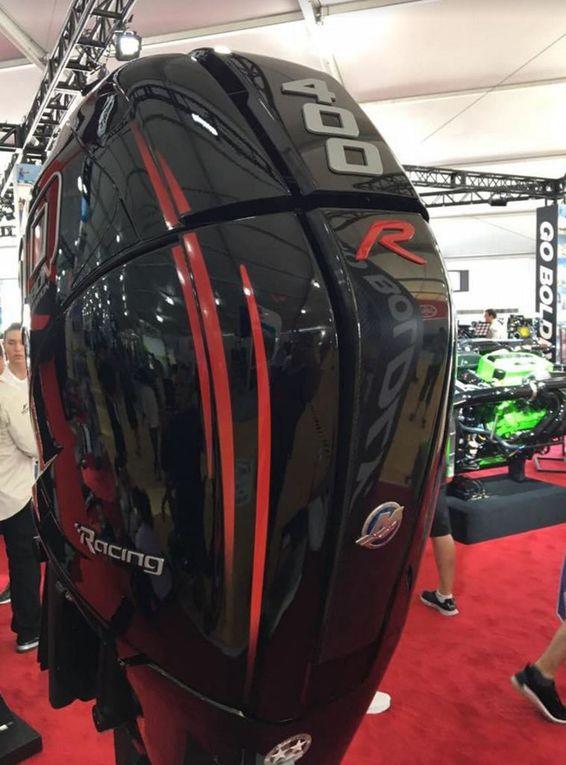 Scoop - à Miami, Mercury Racing dévoile un moteur hors-bord Verado 400R Carbon Edition