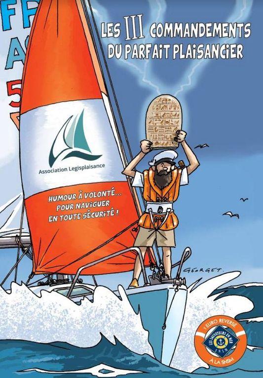 Une BD humoristique pour une plaisance plus sûre, au profit des sauveteurs en mer SNSM