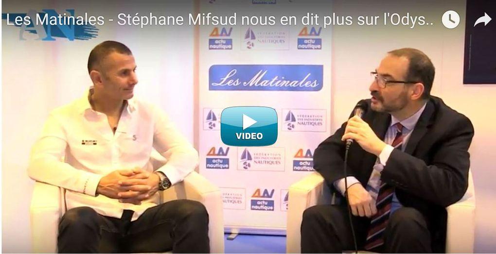 Les Matinales - L'Odyssée Bleue de Stéphane Mifsud, pour sensibiliser le public à la protection des Océans