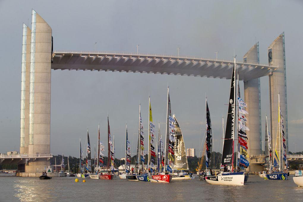 Les 43 skippers de la Solitaire Urgo le Figaro sont à Bordeaux