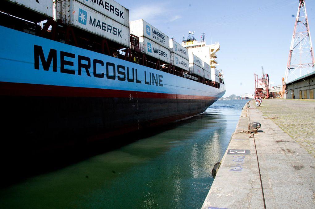 CMA CGM achète la compagnie brésilienne Mercosul à Maersk Line