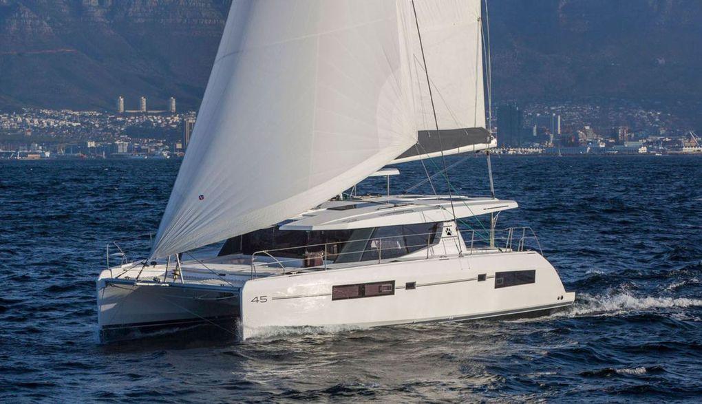 European Yacht of the Year 2018 - voiliers nominés Multicoques : Neel 51, Leopard 45 et Fountaine-Pajot Saona 47