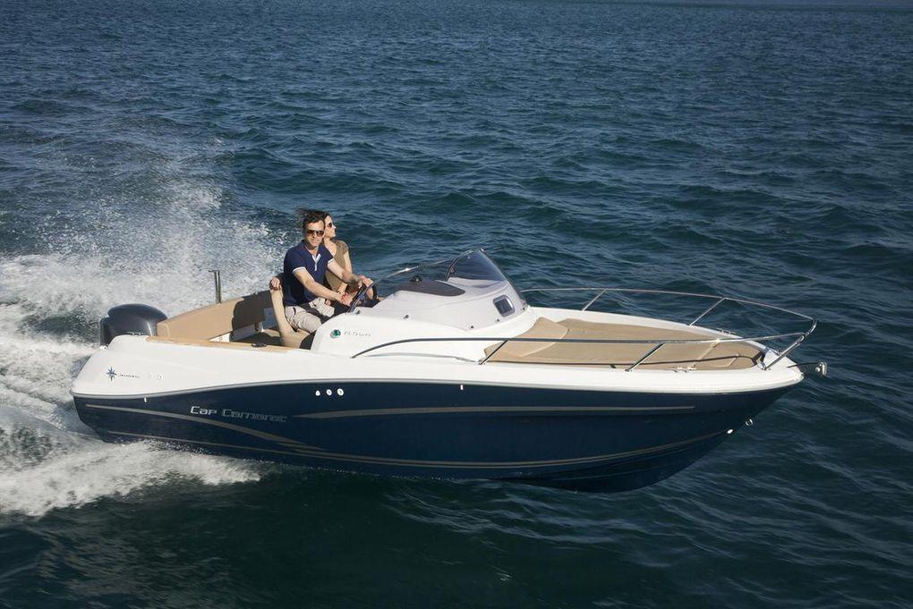 Martine Secher et Bruno Voisard, du Boat Club de France