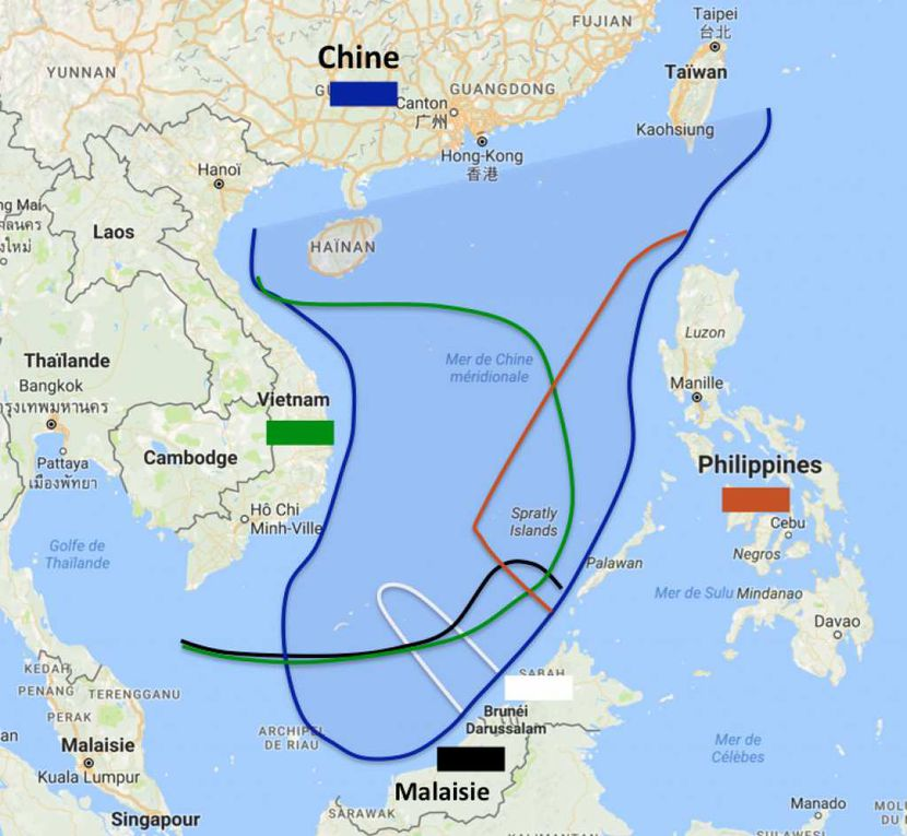 Le Tian Kun Hao / Revendications territoriales en mer de Chine