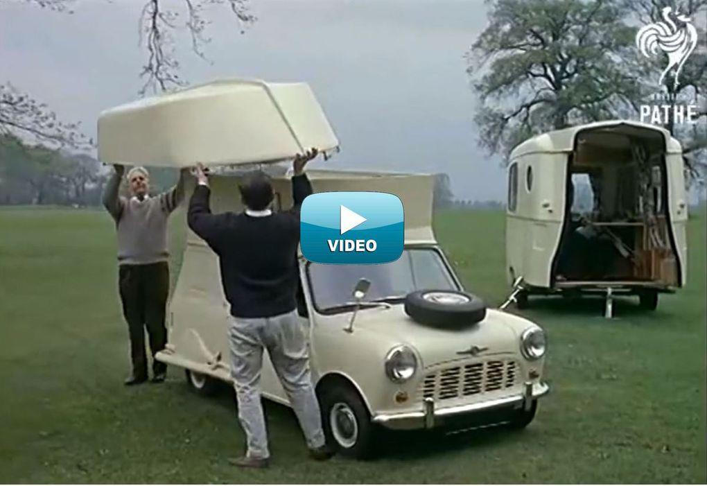 VIDEO - surprenante Mini Caraboat, voiture, camping car et bateau... tout à la fois !