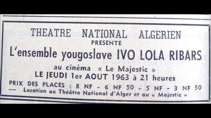 Sortir à Alger, les années 1960, 1970 ,c'était la belle époque