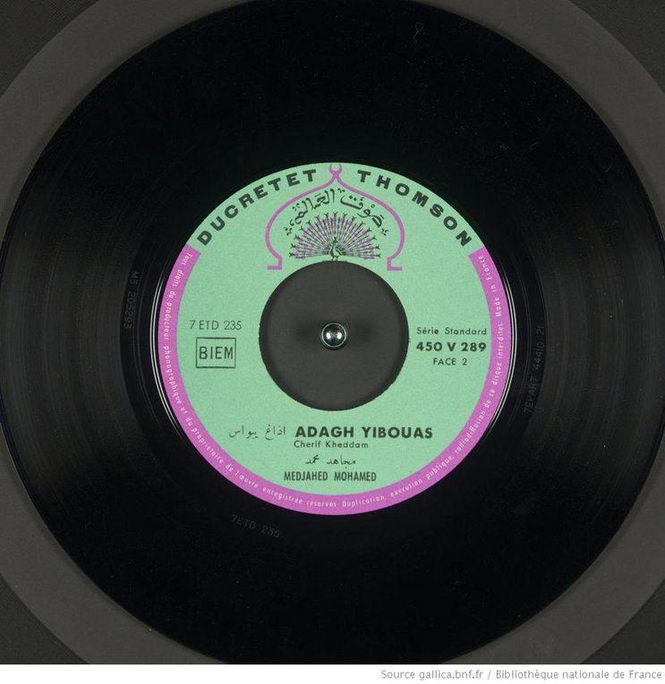 Stars de la musique kabyle 1, Algérie (anciennes chansons)