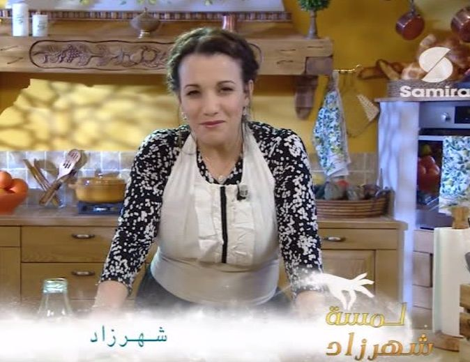 Baqlawa tahiné et Ice cream tahiné by Shahrazed , présentatrice star de Samira tv بقلاوة بالطحينة