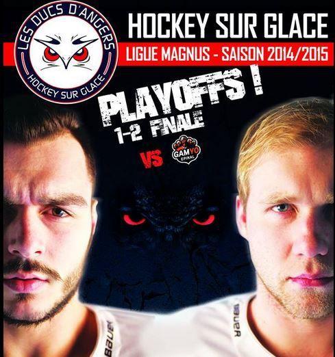 [Mar 17 Mar] Hockey (Ligue Magnus, 1/2 Finale Match 5) Angers / Epinal, à suivre en direct à 20h30 sur l'Equipe.fr !