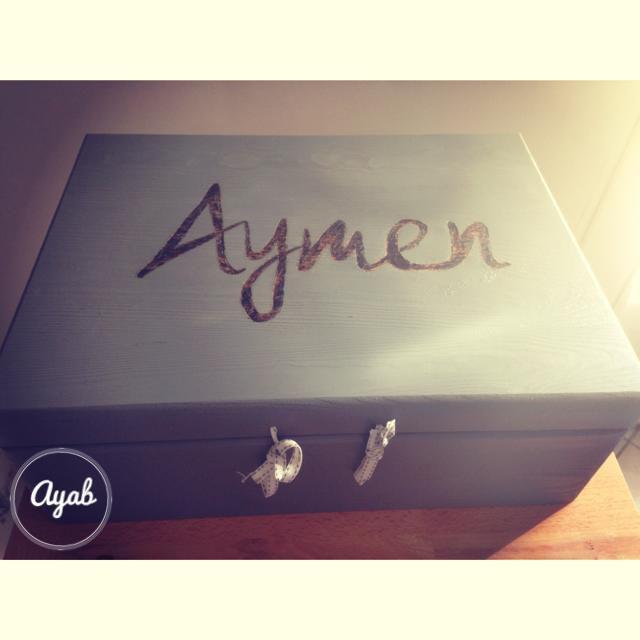 Boite de naissance Aymen Grise