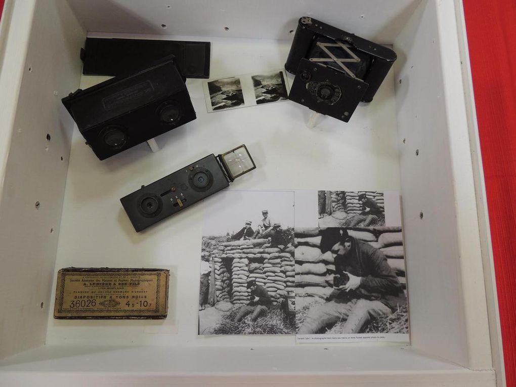 Exposition pour le Centenaire de la guerre 1914-1918 à la Salle des Fêtes de Garennes