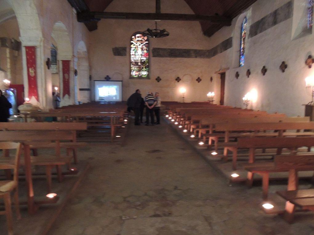 Eglise Saint Aignan - Festival Pierres en lumière 2016