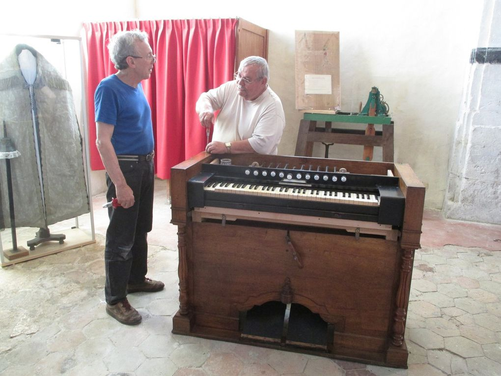 restauration de l'harmonium semaine du 18 juillet 2016