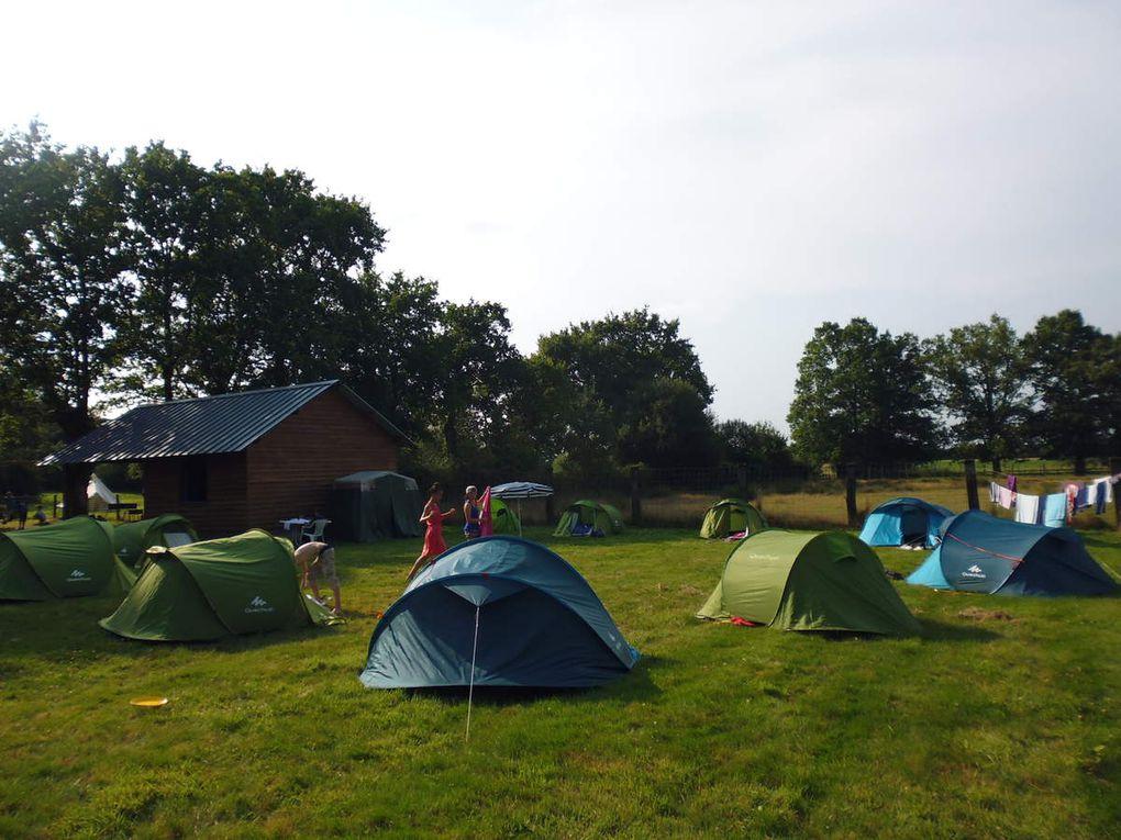 6 emplacements - aire stabilisée pour camping-cars