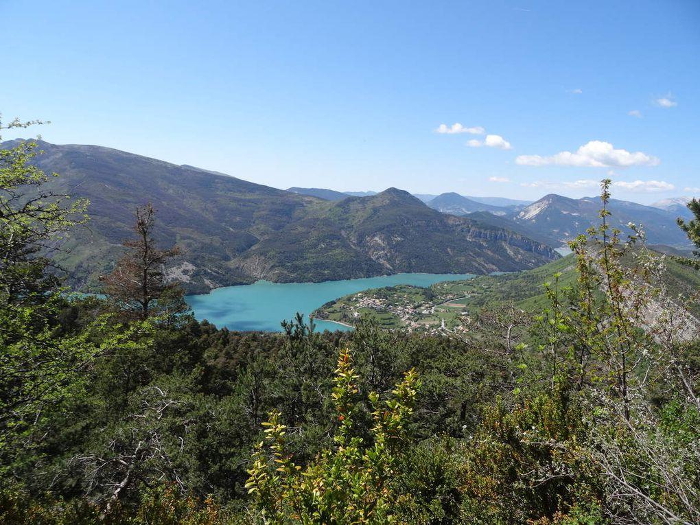 Week-end à St André-des-Alpes (15 et 16 mai 2016)