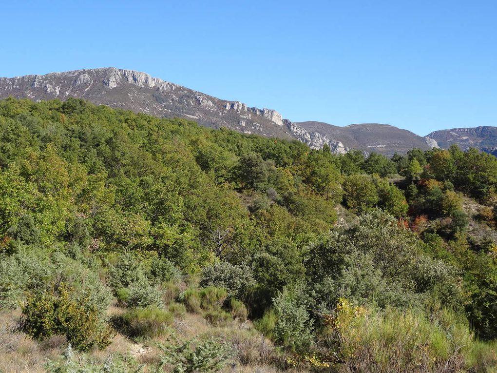 Week-end dans le Pays Dignois : premier jour dans la Vallée de l'Asse (30/10/2016)
